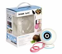 D-Link DCS-825L EyeOn Baby Monitor Wi-Fi con Mydlink Cloud, Risoluzione HD, Slot per MicroSD, Sensore di Temperatura, Bianco
