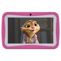 BENEVE M755 Kids Tablet, 7 pollici Andriod 7.1 Tablet con 1GB di RAM 8 GB ROM e WiFi, software per bambini iWawa preinstallato (Rosa)