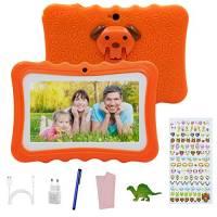 Tablet offerte 7 Pollici Android 7.0,Tablet per Bambini offerte 2GB RAM +32GB con Memoria ,Tablet Educativo offerte Wifi/ Doppia Fotocamera,con Custodia in Silicone , Touch Screen.