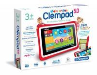 """Clementoni 69483 Tablet Clempad per bambini, 3-6 anni, processore Quad Core, display da 5"""" [Versione Tedesca]"""