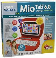 Lisciani Giochi Smart World Mio Tab 6.0 Laptop Evolution, 55647