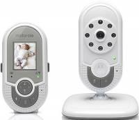 """Motorola Baby Monitor Video Digitale con schermo LCD a colori da 1.8"""" - MBP621 - Bianco"""