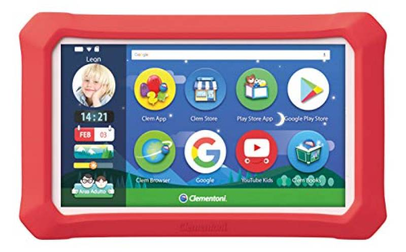 Clementoni-16620-Il Mio Primo Clempad 9 Plus, Tablet per Bambini [Versione 2019], Multicolore, 16620