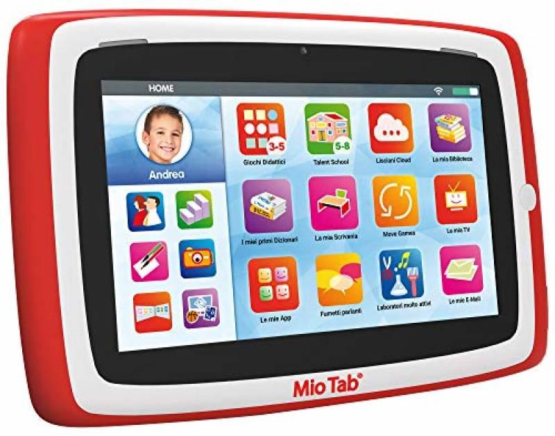 """Liscianigiochi-Mio Tab 7"""" Evolution Tablet Prescolare, 71975"""
