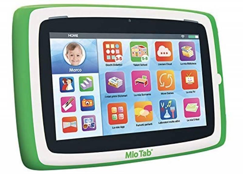 """Liscianigiochi-Mio Tab Preschool Gioco per Bambini, Edizione 2019, Multicolore, 7"""", 77373"""