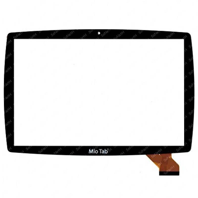 """Vetro Touch Screen 10,1"""" LISCIANI Mio Tab 10"""" Tutor 64229 MP0101066 Nero"""