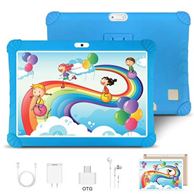 Tablet 10 Pollici Android 9.0 Pie Tablets 3GB RAM + 32GB/128GB ROM - Certificato Google GMS - Dual SIM | 8500mAh | WIFI | Bluetooth | GPS |Type-C | Doppia Fotocamera Tablet