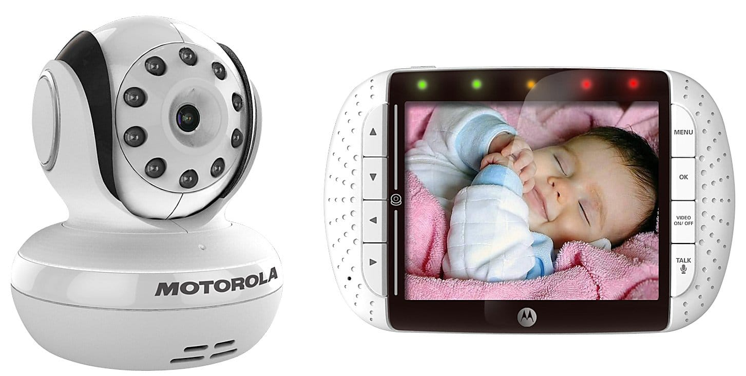 motorola mbp36 recensione ed opinioni baby monitor video. Black Bedroom Furniture Sets. Home Design Ideas