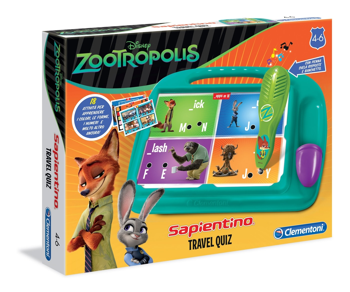 Giochi per bambini di 6 anni zootropolis della clementoni for Giochi per bambini di 6 anni