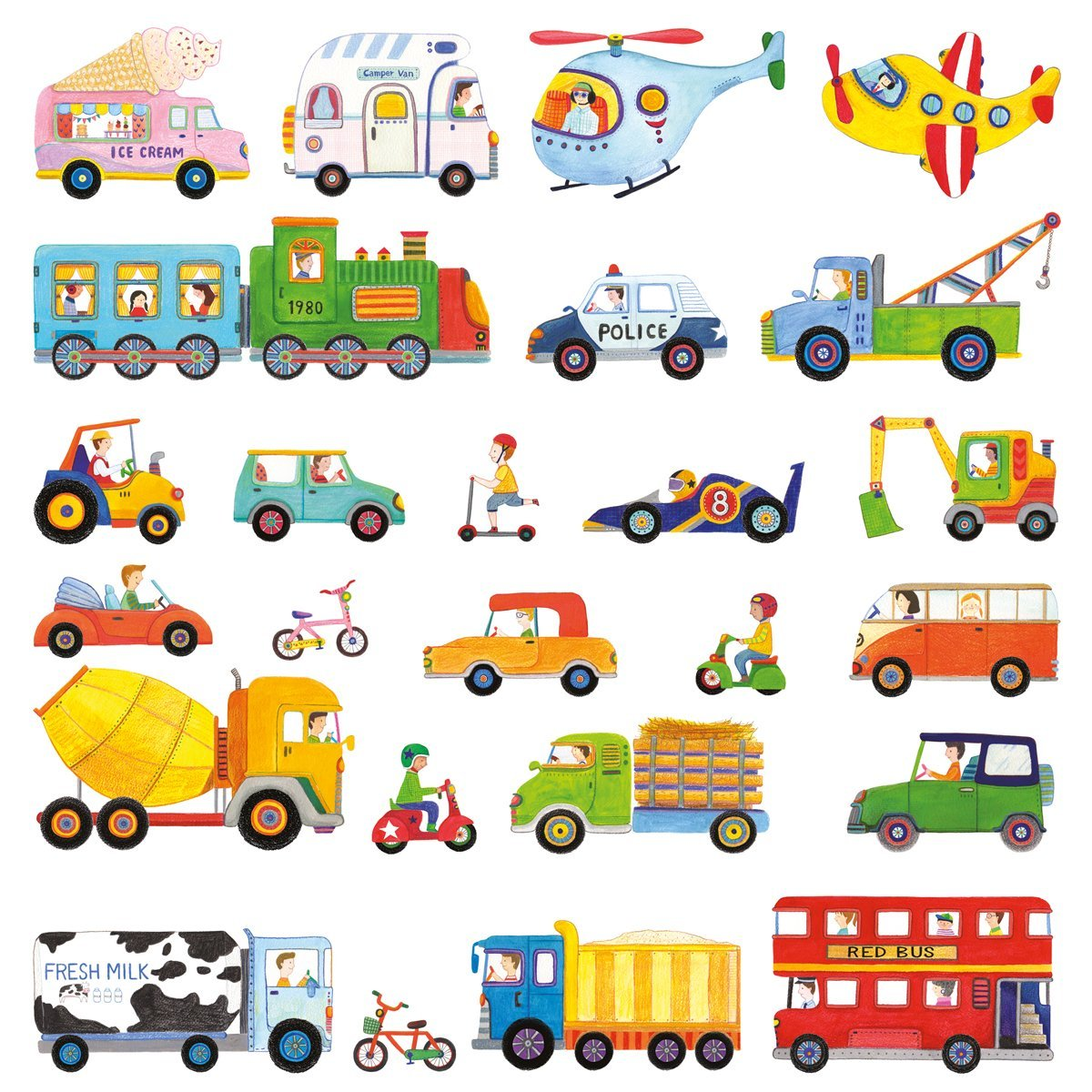 Stickers murali bambini, perfetti per decorare con fantasia! Cerca ...