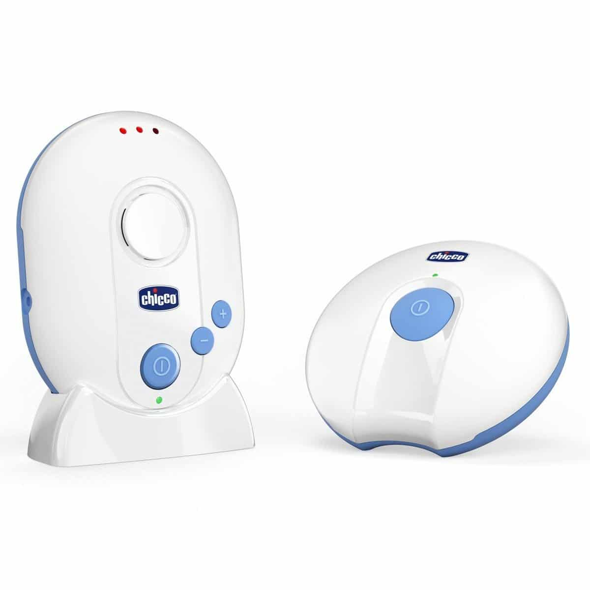 Chicco Audio Baby Monitor, Always With You, 10 Livelli di Volume, 0M+